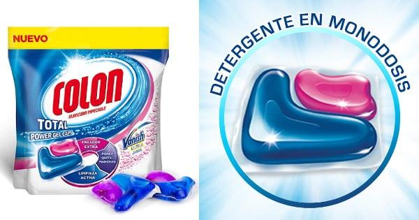 50 cápsulas de detergente Colon para lavadora barato, detergente barato, ofertas en supermercado chollo