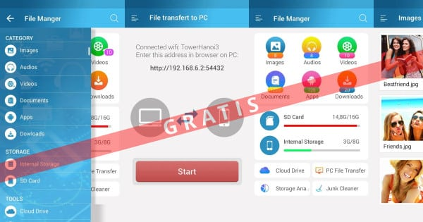 App para Android File Manager Pro gratis, apps para Android gratis, ofertas en Apps para Android, chollo
