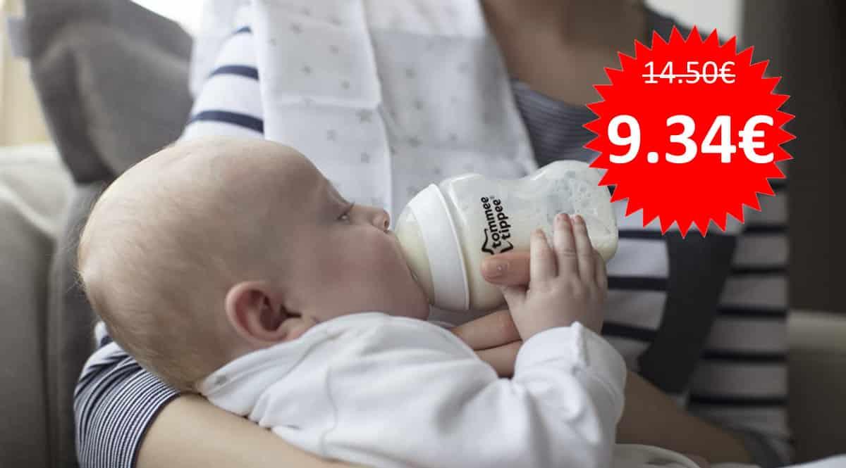 Biberones Tommee Tippee Closer de Nature barato. Ofertas en productos para bebés, productos para bebés baratos, chollo