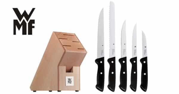 Bloque de 5 cuchillos WMF Classic Line barato. Ofertas en hogar, chollo