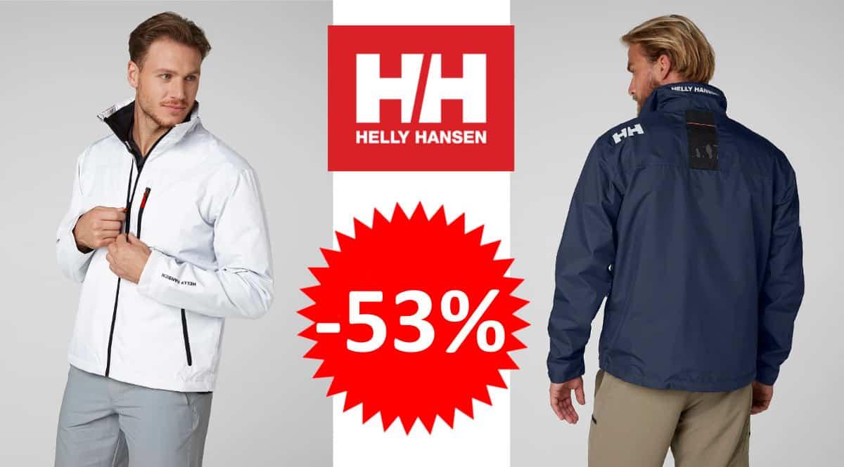 Chaqueta Helly Hansen Crew barata. Ofertas en ropa de marca, ropa de marca barata, chollo