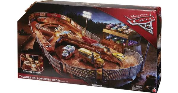 Circuito Choca-Crash de Cars 3 barato, juguetes baratos, chollo
