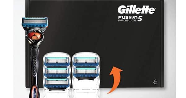 Pack maquinilla y recambios Gillette Fusion5 Proglide baratos. Ofertas en maquinillas, maquinillas baratas, chollo