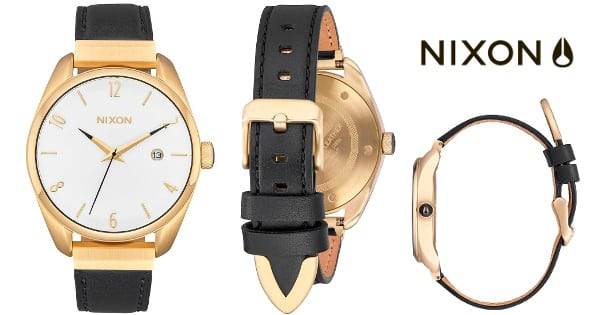Reloj unisex Nixon The Bullet Leather Luxe barato, relojes baratos, ofertas en relojes chollo