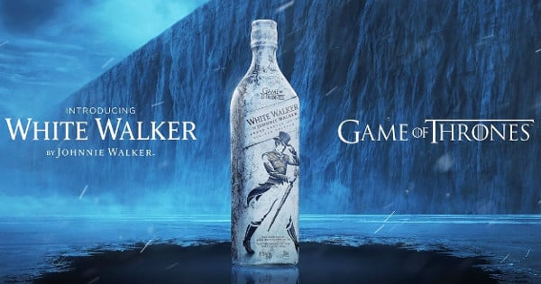 Whisky escocés White Walker by Johnnie Walker baratas, whisky barato, chollo