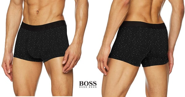 Calzoncillo boxer Hugo Boss Microprint barato, ofertas en ropa interior, chollo