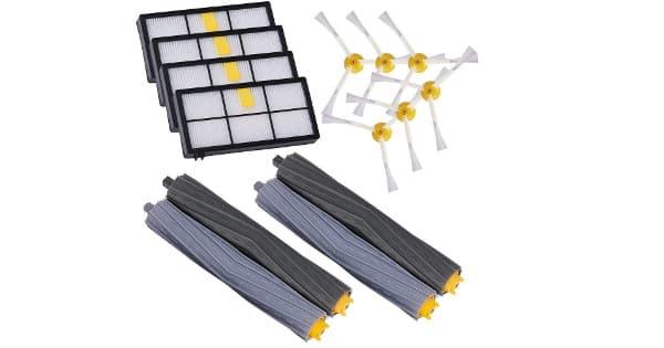 Kit de repuestos GHB 14PCS compatibles con aspiradores Roomba serie 800 y 900 baratos, ofertas en repuestos aspiradores, chollo