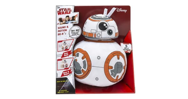 Peluche BB-8 Star Wars de 30cm barato, peluches baratos, chollo