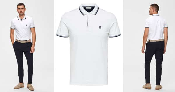 Polo Selected Homme Slhnewseason barato, camisetas baratas, ofertas ropa, chollo