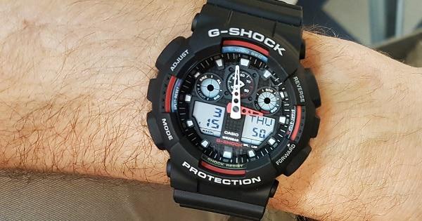 Reloj Casio G-Shock GA-100-1A4ER chollo