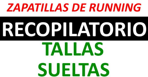 Zapatillas de running baratas. Ofertas en zapatillas de running, chollo