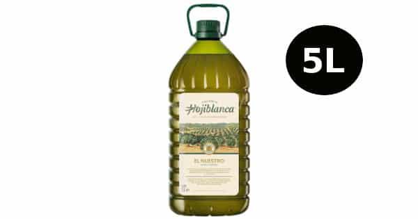 Aceite de oliva virgen extra Hojiblanca, 5 litros, barato, aceite de oliva barato, chollo