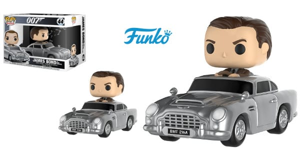 Funko James Bond con Aston Martin DB5 barato, funkos baratos, chollo