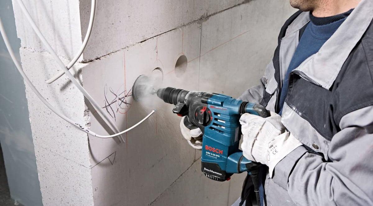 Martillo perforador Bosch GBH 3-28 DFR barato. Ofertas en herramientas, herramientas baratas, chollo