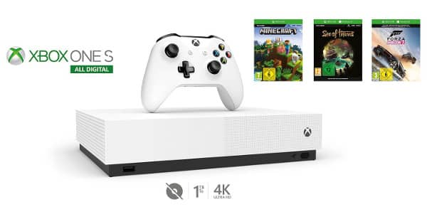 Consola Xbox One S 'All Digital' barata, consolas baratas, chollo