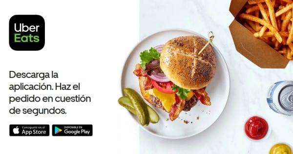 Envío gratis en tus pedidos a Uber Eats de la mano de Booking.com, comida a domicilio barata, ofertas en comida a domicilio, chollo