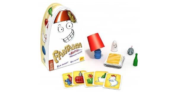 Juego de mesa Fantasma Blitz Menudo susto de Devir barato, juguetes baratos, chollo