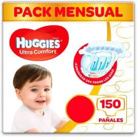Pañales Huggies Ultra Comfort varias tallas baratos, pañales bebé baratos, ofertas supermercado