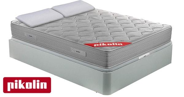 Pack pikolín con colchón + canapé + 2 almohadas baratas, cama barata, ofertas descanso, chollo