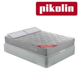 Pack pikolín con colchón + canapé + 2 almohadas baratas, cama barata, ofertas descanso