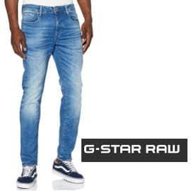 Pantalón vaquero G-Star Raw 3301 Slim barato, pantalones de marca baratos, ofertas en ropa