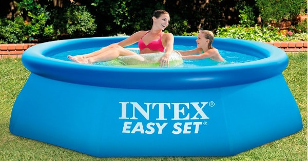 Piscina hinchable con depuradora Intex Easy Jet 28112NP barata, ofertas en piscinas, chollo