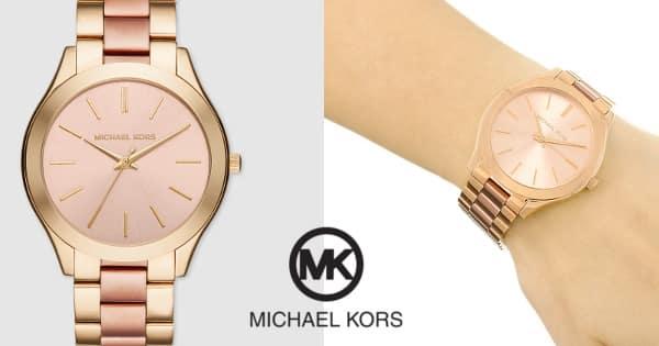 Reloj Michael Kors MK3493 Slim Runway barato, relojes baratos, ofertas en relojes, chollo