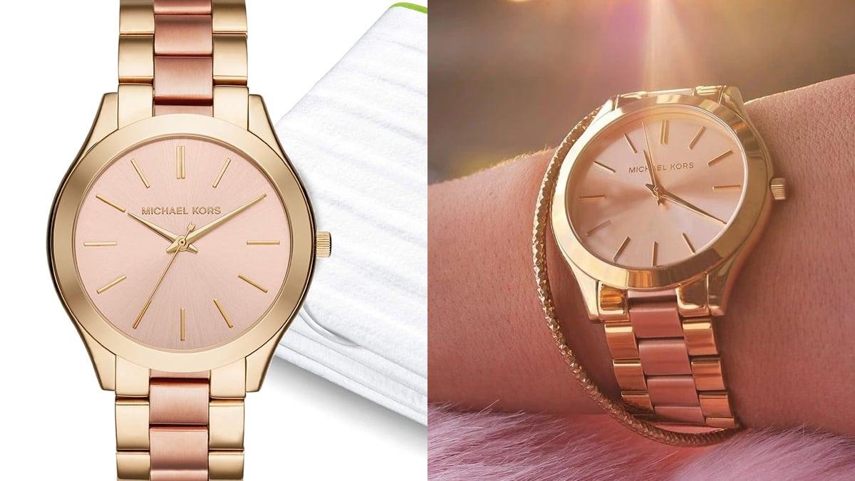 Reloj para mujer Michael Kors MK3493 Slim Runway barato, relojes baratos, ofertas en relojes chollo