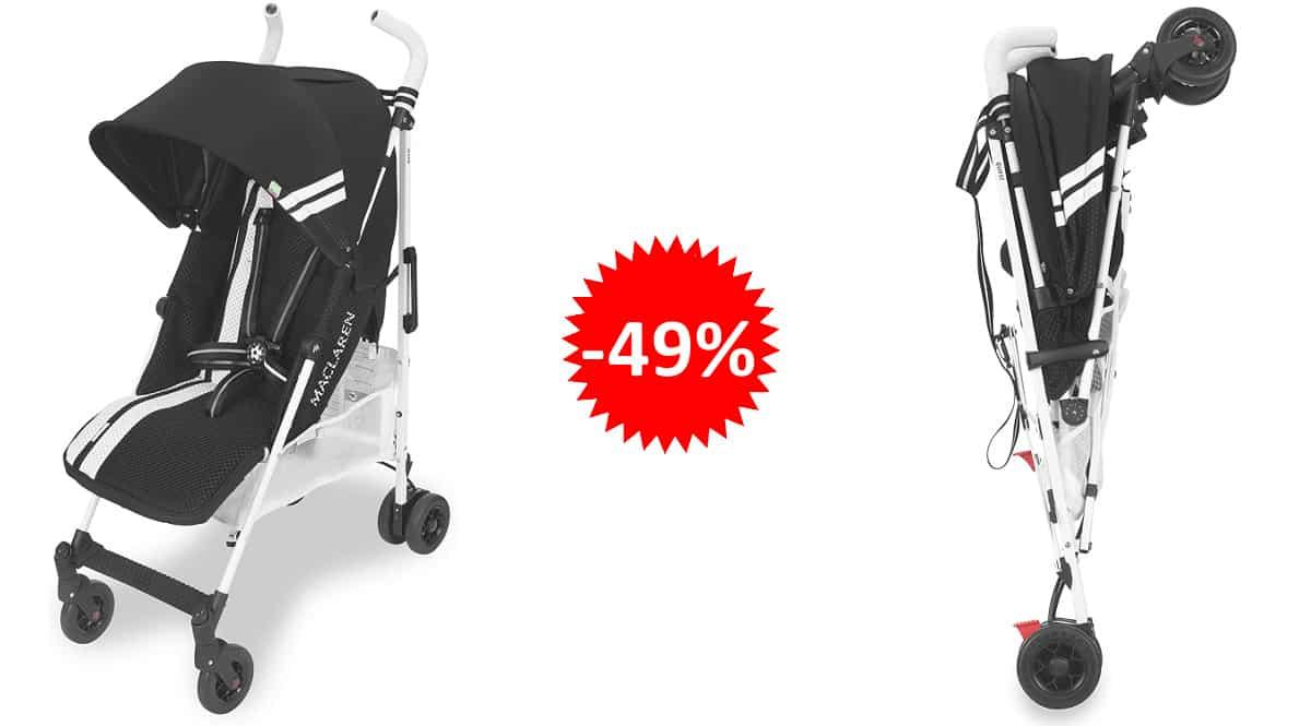 Silla de paseo Maclaren Techno XT barata, sillas de paseo baratas, ofertas para bebés, chollo