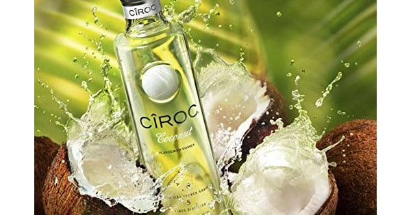 Vodka Ciroc Coconut barato. Ofertas en vodka, vodka barato, chollo