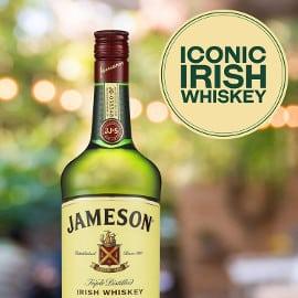 Whisky irlandés Jameson barato, whiskys baratos