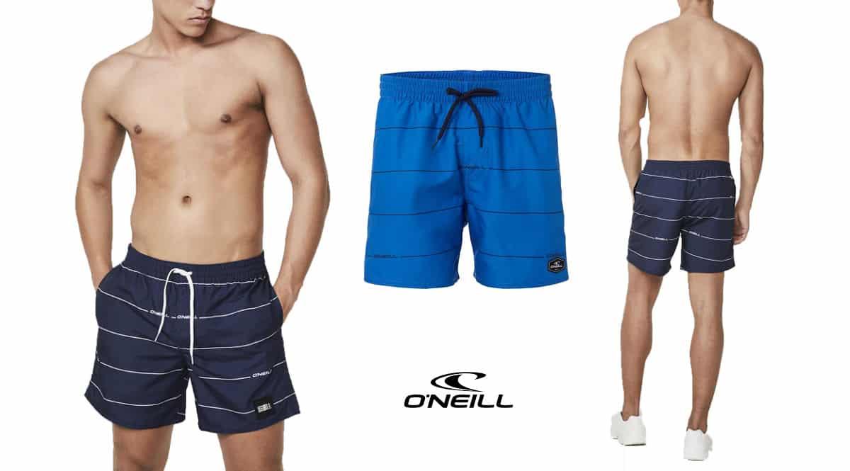 Bañador para hombre O'Neill PM Contourz barato, bañadores de marca baratos, ofertas en ropa, chollo