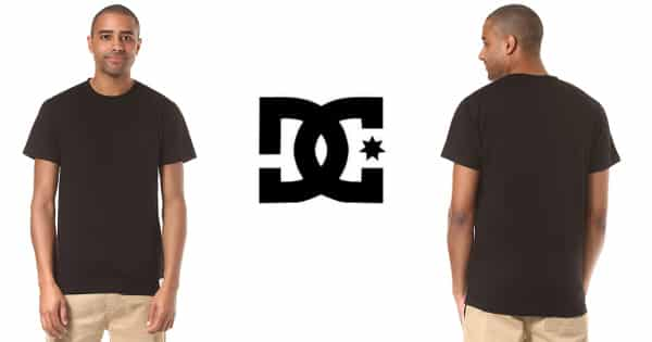 Camiseta DC Shoes Basic barata, camisetas baratas, ofertas en ropa, chollo