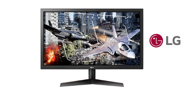 Monitor gaming LG 24GL600F barato, monitores baratos, chollo