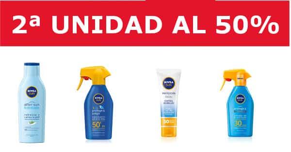Promoción en cremas solares Nivea -protectores-solares-baratos-ofertas-en-cuidado-personal, chollo