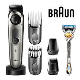 Recortadora y cortapelos Braun BT7040 + maquinilla Gillette Fusion5 ProGlide barata, afeitadoras baratas