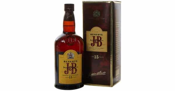Whisky escocés JB reserva 15 años barato, bebidas baratas, ofertas supermercado, chollo