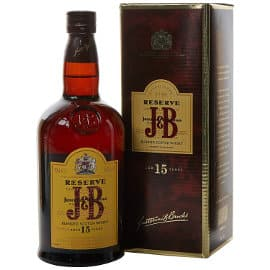 Whisky escocés JB reserva 15 años barato, bebidas baratas, ofertas supermercado