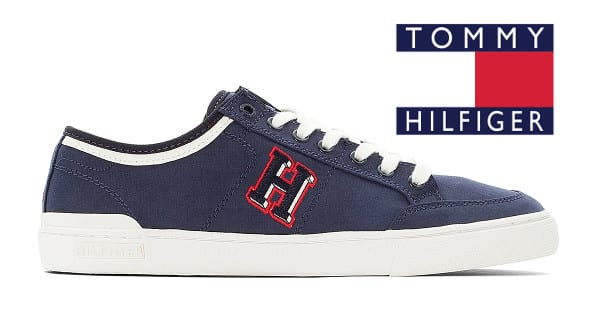 Zapatillas para hombre Tommy Hilfiger Core Corporate Seasonal baratas, zapatillas baratas, chollo