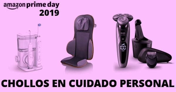 Amazon Prime Day 2019 ofertas en cuidado personal y belleza, chollo