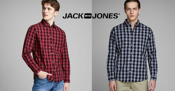 Camisa para hombre Jack & Jones Egingham barata, ropa de marca barata, chollo