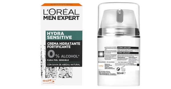Crema hidratante L'Oreal Paris Men Expert barata. Ofertas en cuidado personal, chollo