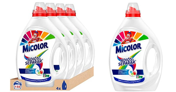 Detergente Micolor Adiós al Separar barato, detergente barato, ofertas en supermercado chollo