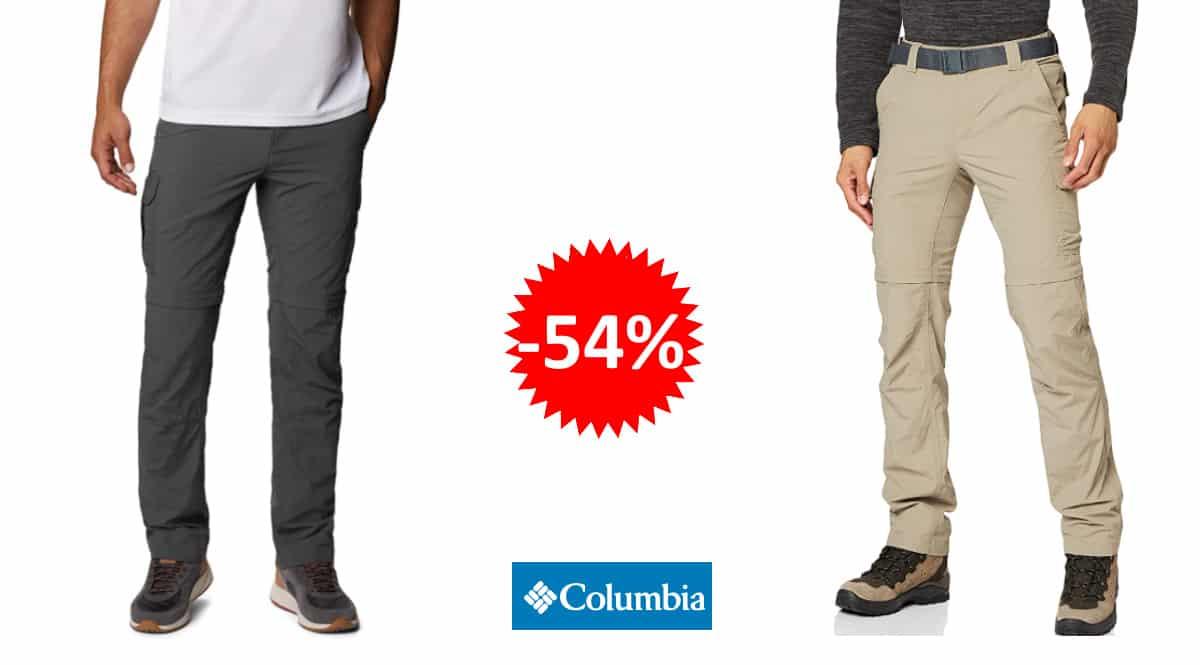 Pantalón de senderismo Columbia Silver Ride II barato, pantalones deporte baratos, ofertas en ropa, chollo