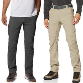 Pantalón de senderismo Columbia Silver Ride II barato, pantalones deporte baratos, ofertas en ropa