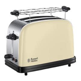Tostadora Russell Hobbs Colours Plus cream barata, tostadores baratos, ofertas para la casa