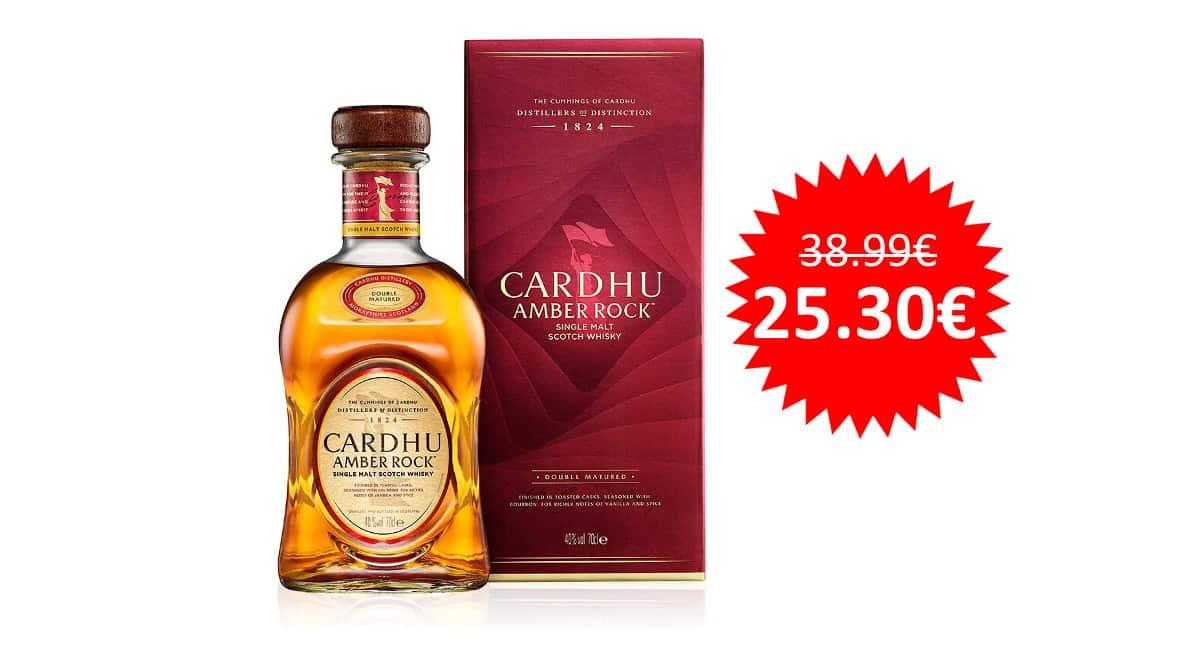 ¡¡Chollo!! Whisky Cardhu Amber Rock sólo 25 euros.