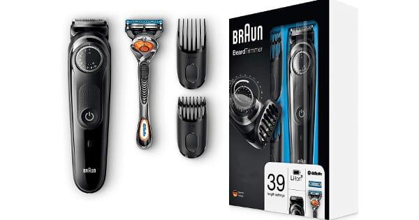 Barbero Braun BT5042 + maquinilla Gillette Fusion5 ProGlide barata, maquinillas baratas, ofertas afeitadoras, chollo