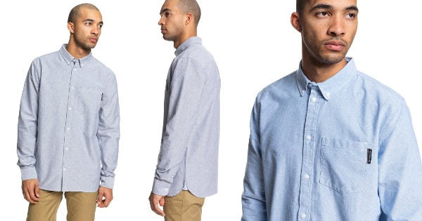 Camisa DC Shoes The Oxford barata, ropa de marca barata, ofertas en camisas chollo