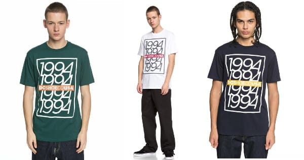 Camiseta para hombre DC Shoes Renewal barata, camisetas baratas, chollo